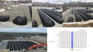 Large Drainmax Installation in Housing Estate