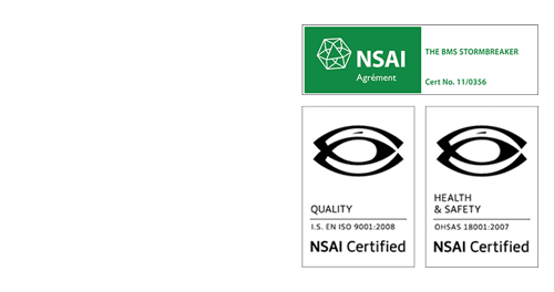 BMS ISO 9001 and Health & Safety Certificates