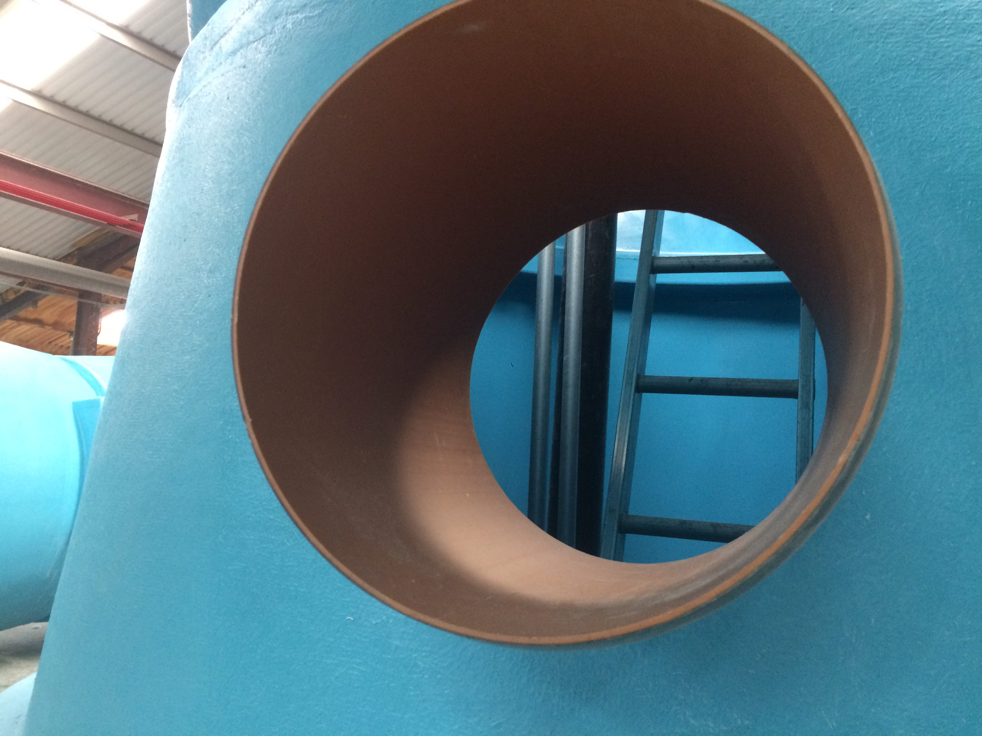 Large Pre-installed inlet pipe in package pump station