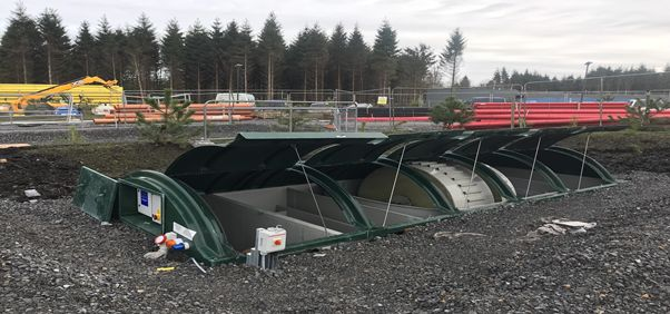 BMS Blivet Package WWTP operating at Center Parcs Longford