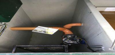 BMS Blivet UV Disinfection Compartment