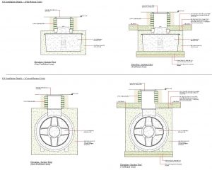 BMS Fire Fighting Tank & Interceptor Installation Drawing